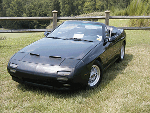 Beautiful RX-7 Convertible with Millennium-R Headrest Speakers